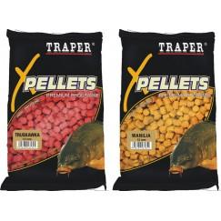 Прикормка TRAPER PELLETS 8 mm / 1 kг (в ассортименте)